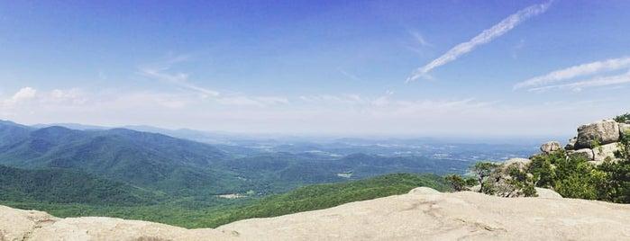 Old Rag Mountain Summit is one of VA.
