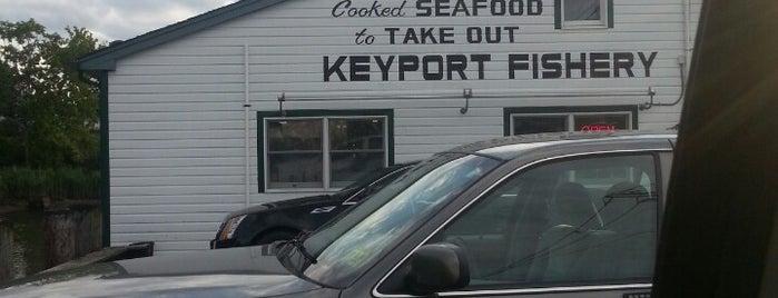 Keyport Fishery is one of สถานที่ที่บันทึกไว้ของ Brett.