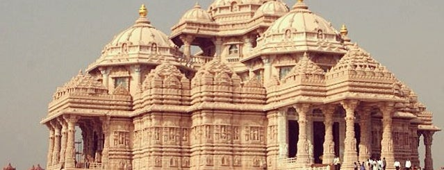 Swaminarayan Akshardham is one of Incredible India.