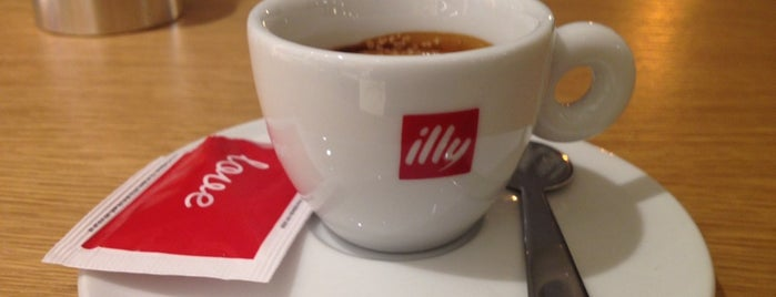 Espressamente Illy is one of Kyiv gastro.