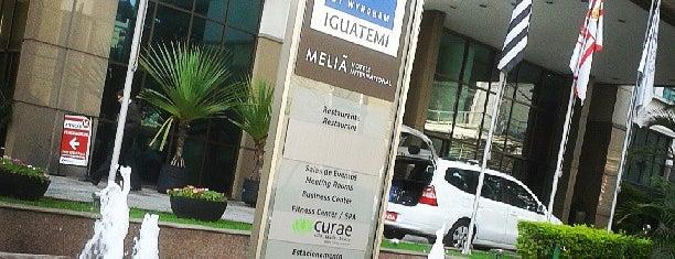 TRYP São Paulo Iguatemi Hotel is one of Adriane 님이 좋아한 장소.