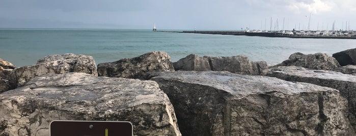 North Beach is one of Orte, die George gefallen.