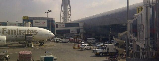 Dubai Uluslararası Havalimanı (DXB) is one of Airports of the World.