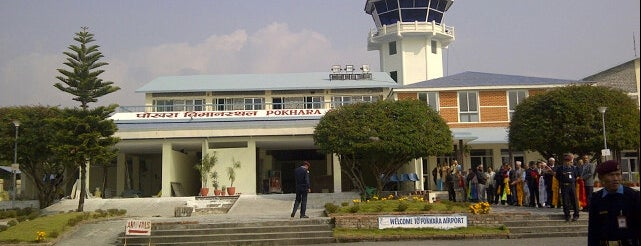 Pokhara Airport (PKR) is one of internatiınal airport.