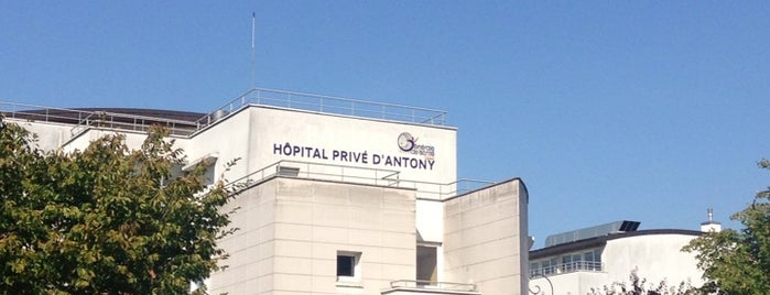 Hôpital Privé d'Antony is one of Guide des Maternités.