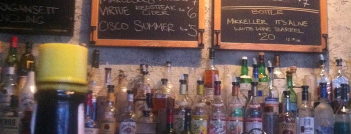 Mission Dolores is one of Summer drink spots.