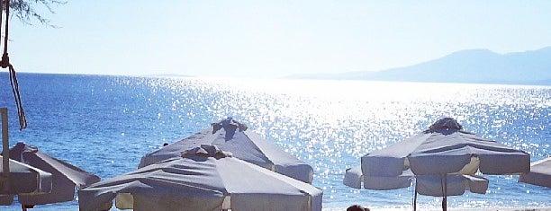 Santana beach-club is one of Greece.