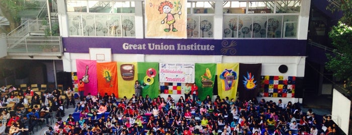 Great Union Institute is one of สถานที่ที่ Corasoun ถูกใจ.