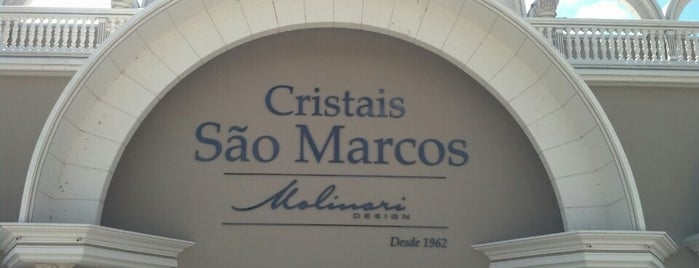 Cristais São Marcos is one of locais.