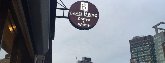 Caffe Bene is one of NYC Tea.