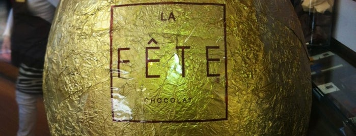 La Fête Chocolat is one of Locais salvos de Nicolas.