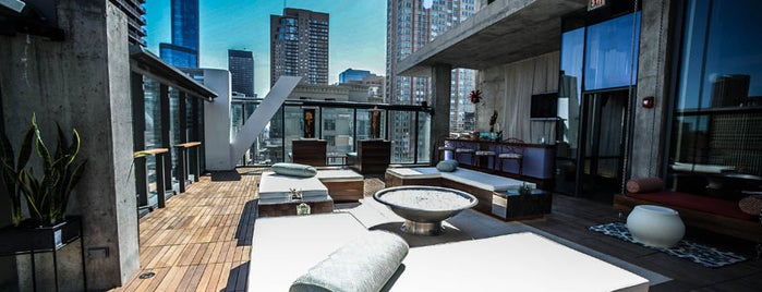 Vertigo Sky Lounge is one of The 9 Best Rooftop Bars In Chicago.