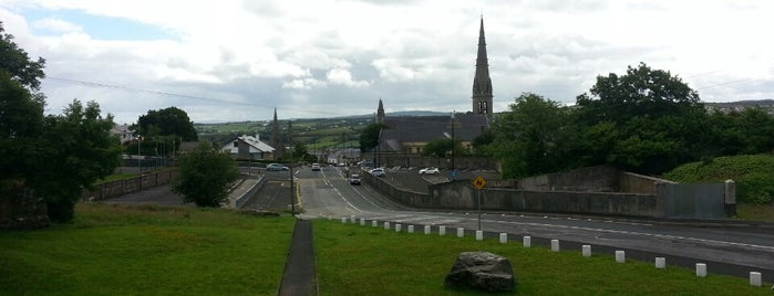 Letterkenny is one of Mark's list of Ireland.