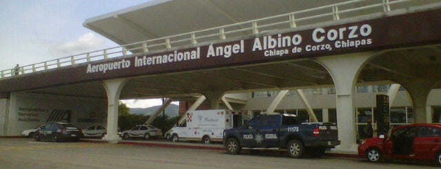 Aeropuerto Internacional de Tuxtla Gutierrez Ángel Albino Corzo (TGZ) is one of Lugares favoritos de Alan.