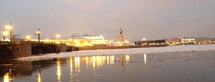 Neva River is one of St Petersburg.