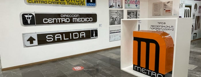 Museo Del Metro is one of 2021 sabroso.