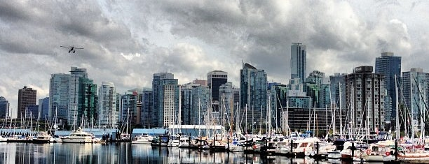 Stanley Park Harbourfront Seawall is one of Looking @ Skylines.