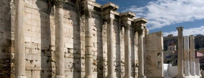 Biblioteca de Adriano is one of Viaje a Grecia.