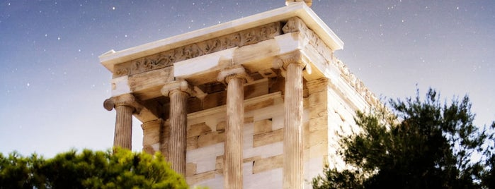 Tempel der Athena Nike is one of Grecia.