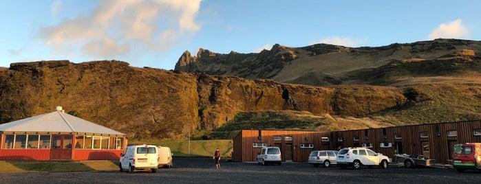 Tjaldsvæðið í Vík í Mýrdal is one of Iceland 2017.