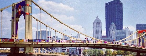 Andy Warhol Bridge is one of Pittsburgh.