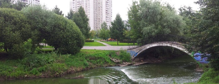 Парк у реки Городня is one of Moskova 1.