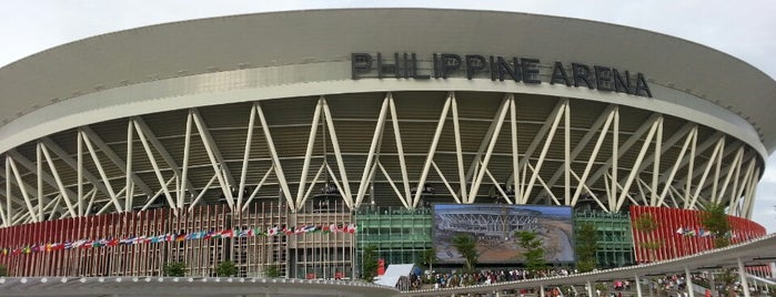 Philippine Arena is one of Lieux qui ont plu à Shank.