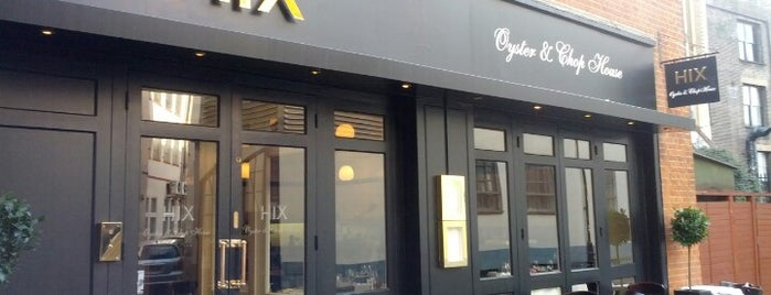 Hix Oyster and Chop House is one of Visiting London.