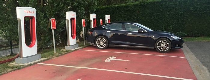 Tesla Supercharger Nancy is one of Superchargeurs Tesla en France.