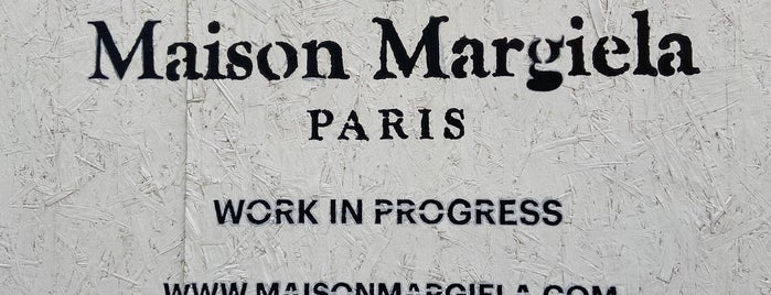 Maison Margiela is one of London.