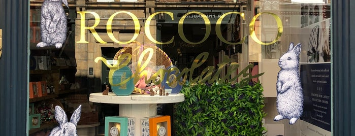Rococo is one of LONDON.