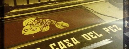 La Casa del Pez is one of Madrid: Pub's, Terrazas, Cocktail's.
