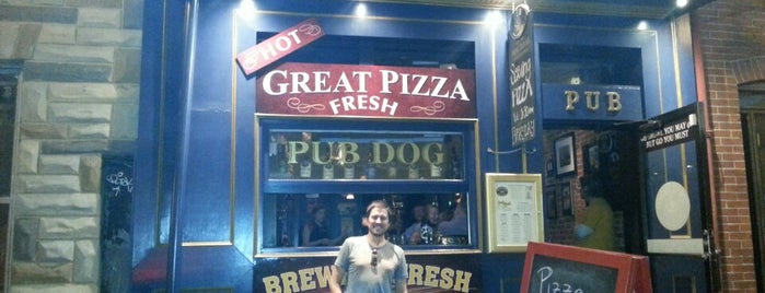 Pub Dog Pizza & Drafthouse is one of Baltimore Sun's 50 Best Bars (2013).