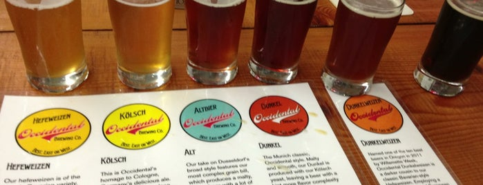 Occidental Brewing Company is one of PDX Breweries.