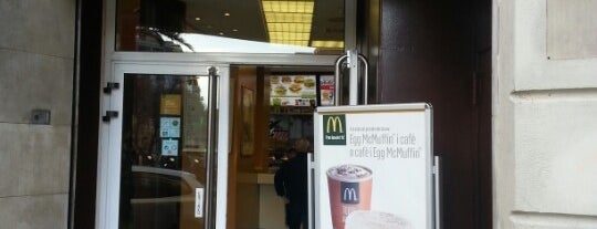McDonald's is one of Barcelona.