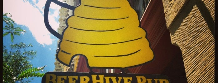 BeerHive Pub & Grill is one of CraftBeer.com's Best Craft Beer Bar in Every State.