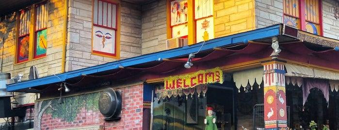 Cosmic Cafe is one of Vegetarian Restaurants.