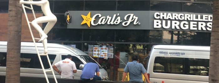 Carl's Jr is one of Your Place Corner.