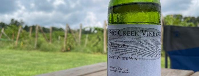 Big Creek Vineyard & Winery is one of Local Wineries/Vineyards.