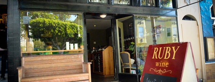 Ruby Wine is one of Neighborhood Guide to Dogpatch and Potrero Hill.