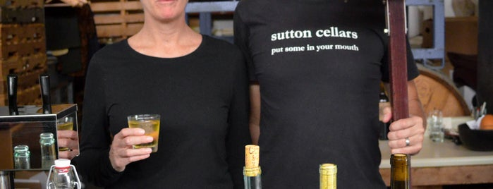 Sutton Cellars is one of Neighborhood Guide to Dogpatch and Potrero Hill.