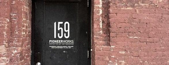 Pioneer Works is one of Neighborhood Guide to Red Hook.