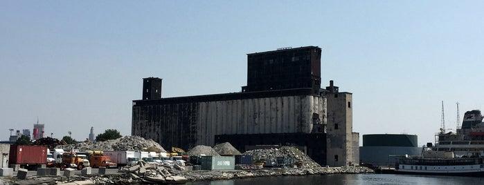 Red Hook Grain Terminal is one of BK Queens Bronx.