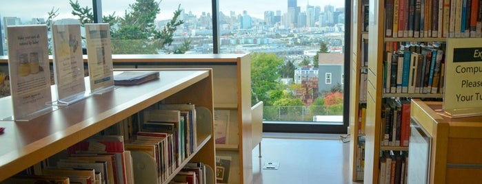 Potrero Branch Public Library is one of Neighborhood Guide to Dogpatch and Potrero Hill.