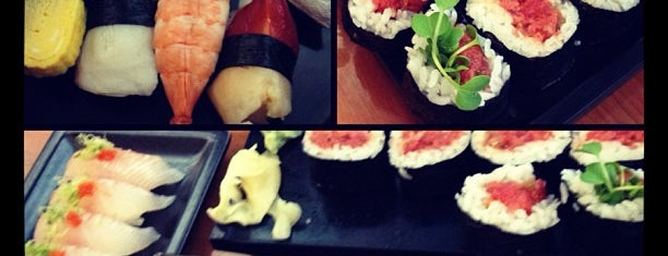 Hide Sushi is one of favorite.