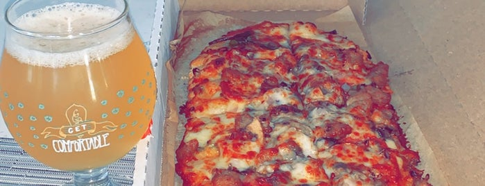 Slim & Husky's Pizza Beeria is one of 💚✈️ A t l a n t a ✈️💚.