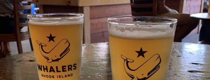 Whalers Brewing Company is one of Rhode Island 2019.