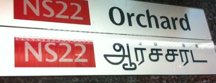 Orchard MRT Station (NS22) is one of Singapore.