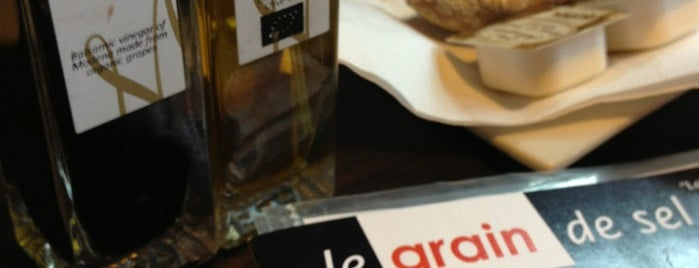 Le Grain  De Sel is one of Locais salvos de Christian.
