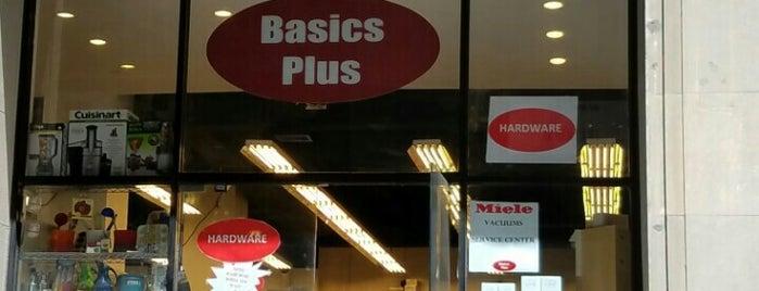 Basics Plus is one of Locais salvos de Dessi.